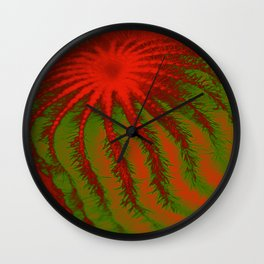 Barbed Abstract V Wall Clock
