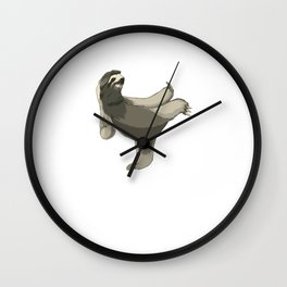 This karate sloth design is the perfect gift for martial artists who loves Taekwondo or Kung Fu Wall Clock