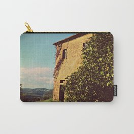 Tuscany Italy Countryside With Villa Carry-All Pouch