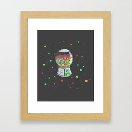 The Delicious Origin of the Universe Framed Art Print