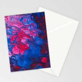 Swirls II Stationery Cards