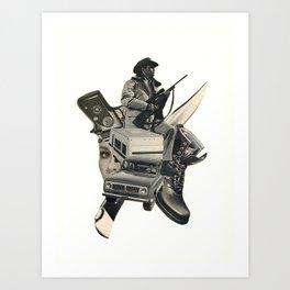 Tracker! Art Print