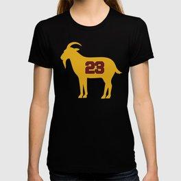 LeBron Shirt | LeBron Goat | King James Crown Tshirt | Cleveland The Goat 23 | LBJ Shirt T-shirt