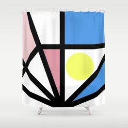 Around Every Color Shower Curtain