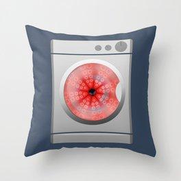 Octo-spin Throw Pillow