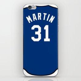 Chris Martin Jersey iPhone Skin