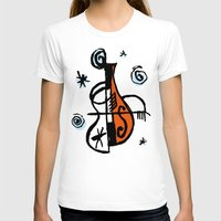 cello T-shirts featuring Cello by Ewen Prigent