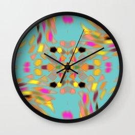 Abstract 70's feel Wall Clock