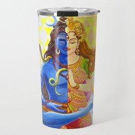 Shiva and Shakti Travel Mug