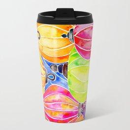 Vietnamese Rainbow Lanterns Travel Mug