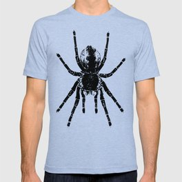 Scary Tarantula Spider Halloween Black Arachnid T-shirt