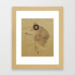 Woolfymusic Framed Art Print