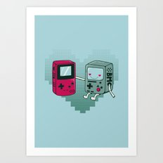 BMO IN LOVE Art Print