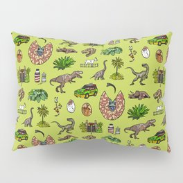 Jurassic pattern lighter Pillow Sham