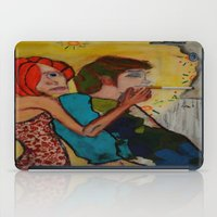 cigarette iPad Cases featuring cigarette by Samantha Sager