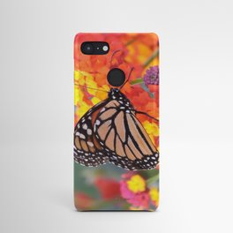 Monarch Feeding on Lantana Android Case