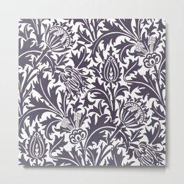 """William Morris """"Thistle"""" 9. Metal Print"""