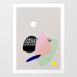 Accum Art Print