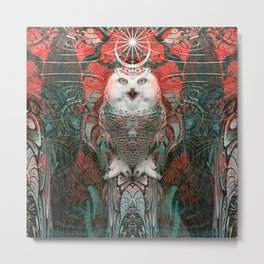 The Owls are Beautiful Metal Print