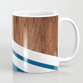 Wood of blue Coffee Mug