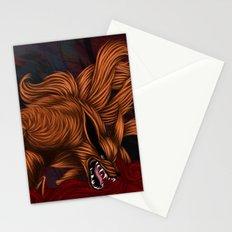 .:Kurama:. The Nine Tailed Fox Stationery Cards