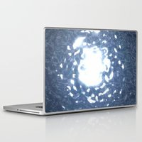 stargate Laptop & iPad Skins featuring Event Horizon - Stargate by Geek Bias