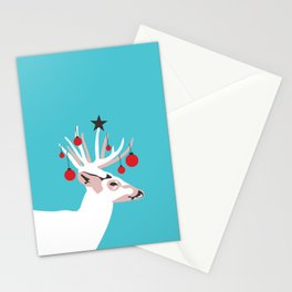 Deer with Cheer Stationery Cards