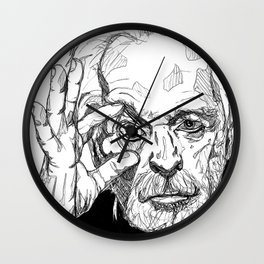 Alejandro Jodorowsky Wall Clock