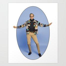 The Magnificent Jeff Goldblum Art Print