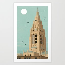 The Cathedral of Hope in Pittsburgh, PA Art Print