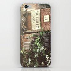 Villa Les Violettes iPhone & iPod Skin