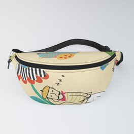 Papercutting With Matisse Fanny Pack