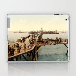 The Jetty at Margate, Kent Laptop & iPad Skin