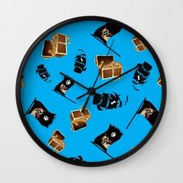 Pirate Chi Wall Clock