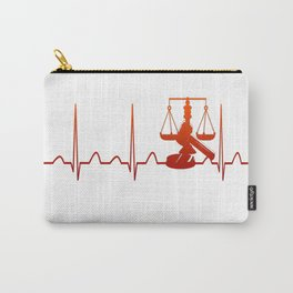 JUDGE HEARTBEAT Carry-All Pouch