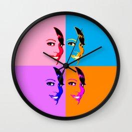Keisha D POP! 4 Color Wall Clock