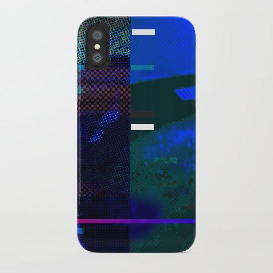 No Way No How < The NO Series (Blue) iPhone Case