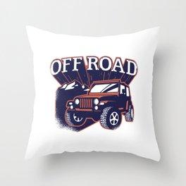 offroad Throw Pillow