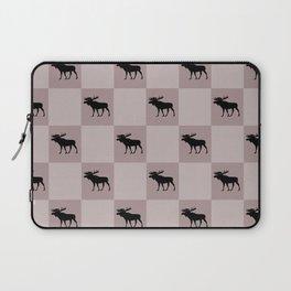 moose cool home pattern Laptop Sleeve