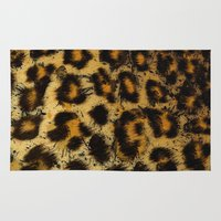 cheetah Area & Throw Rugs featuring Cheetah by Some_Designs