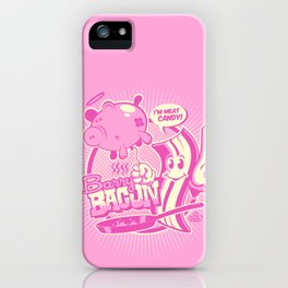 MEET BARRY BACON! iPhone Case