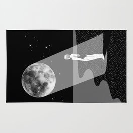 The moon knows me Rug