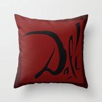 dali Throw Pillows featuring Dali by Turul