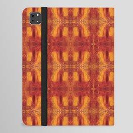 Humming Bird Orange iPad Folio Case