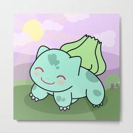 Cute Bulba  Metal Print