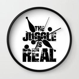 Juggling Hobby | Juggler Clown Circus Gifts Wall Clock