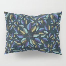 Duo-Toned Leaf pattern 1 (Purple/Gold) Pillow Sham