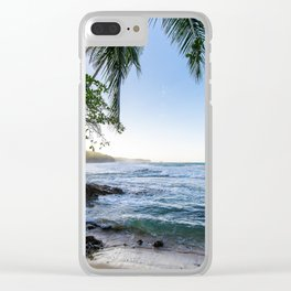 Beachie Business Clear iPhone Case