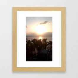 Beach in the Cayman Islands Framed Art Print