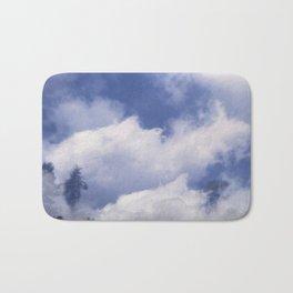 Midday Cloudscape Bath Mat